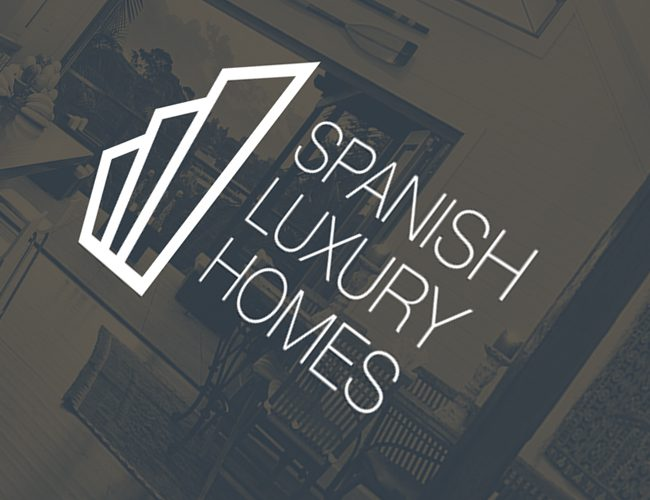 diseño de logo spanish luxury homes